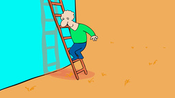 THE LADDER Stock Video Footage