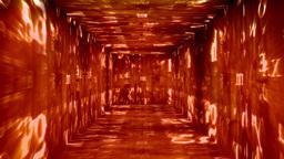 Christmas Tunnel v1 01 Stock Video Footage