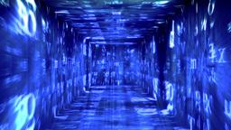 Christmas Tunnel v1 03 Stock Video Footage