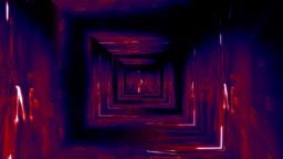 Christmas Tunnel v1 05 Stock Video Footage