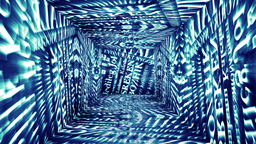 Christmas Tunnel v2 03 Stock Video Footage