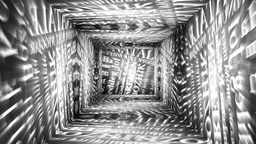 Christmas Tunnel v2 05 Stock Video Footage