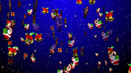 Christmas 13 santa bell Stock Video Footage