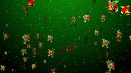 Christmas 15 bell holly Stock Video Footage