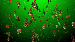 Christmas 21 tree bell holly Animation
