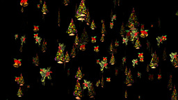 Christmas 23 alpha tree bell holly Animation
