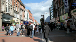 Dublin City Streets 1 Stock Video Footage