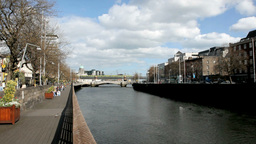 Dublin City 2 Stock Video Footage