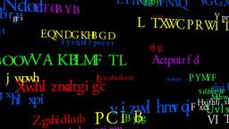Merry Christmas MultiLingual Minimal Design 01 multicolor Stock Video Footage
