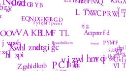Merry Christmas MultiLingual Minimal Design 03 multicolor Stock Video Footage