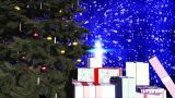 Merry Christmas V2 03 stock footage