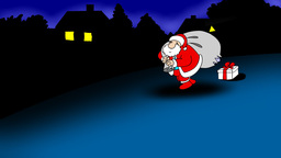 SANTA Stock Video Footage