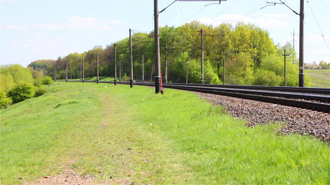 Railroad 5 Stock Video Footage
