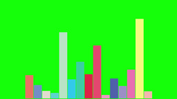 Column Diagram 1 - Green Screen-Colored Animation