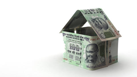 Real Estate Finance (Indian Rupee) Footage