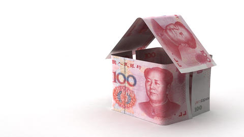 Real Estate Finance (Chinese Yuan) Footage
