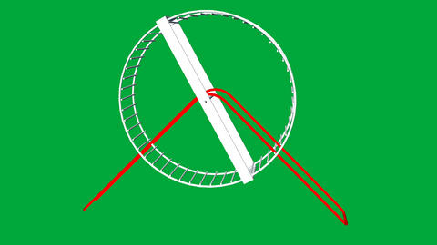 Hamster Wheel Animation (Rat Race of Life): Loopin Animation