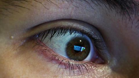 Businessman's eye wonders Live Action