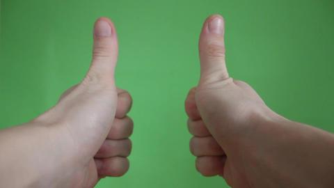 hands gestures green screen Live Action