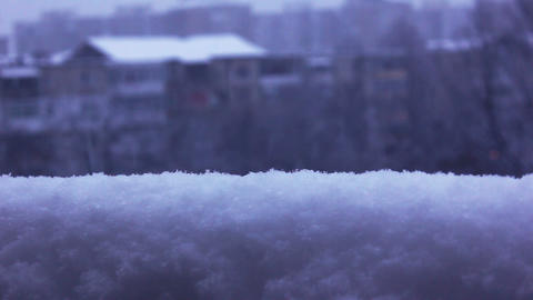 snow and snowing winter Footage