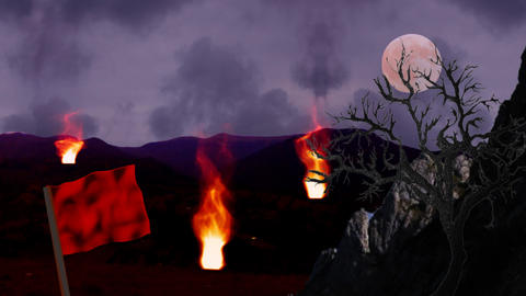 dream scene background loop Animation