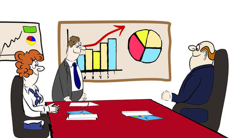 Business cartoon 02 Animation