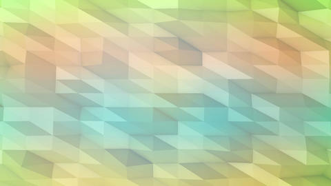 Low Poly Abstract Background. Loop Animation stock footage