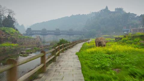 Chengyang village hyperlapse 4K Footage