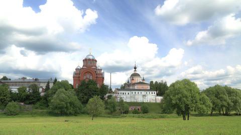 Pokrovsky Convent timelapse 4K Footage