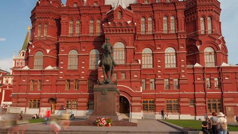 Zhukov monument hyperlapse 4K Footage