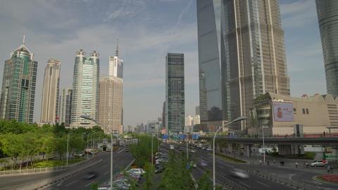 Shanghai overpas hyperlapse 4K Footage