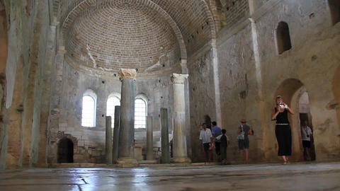 Saint Nicolas church in Myra, old name - Demre, Turkey Footage