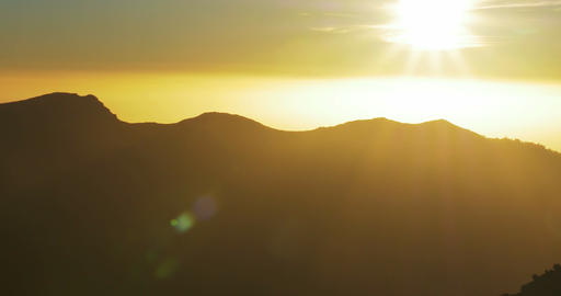4K, Sunrise At Roque De Las Muchachos, La Palma stock footage