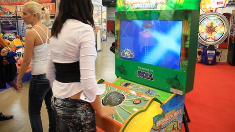 Arcade machines Footage