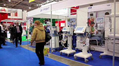 Medical exhibition Footage