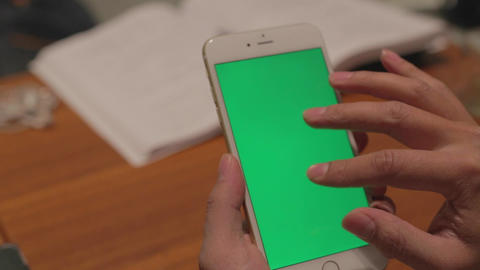 iphone 6 plus phone - business man pinch tap motio Footage