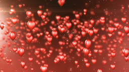 Heart Background stock footage