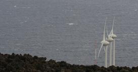 4K, Windmills, Wind Turbines, Wind Generators Footage
