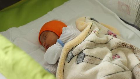 Baby Sleeps Footage