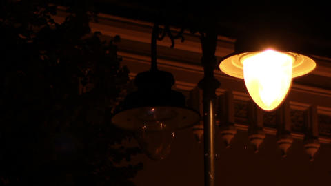 Flickering Street Lamp Live Action