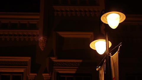 Flickering Street Lights Footage