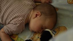 Focus Shift Sleeping Baby Footage