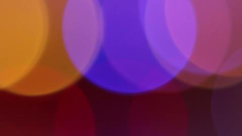 Large Circles Bokeh Footage