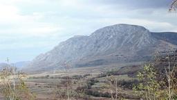 No Vegetation Rocky Mountain stock footage