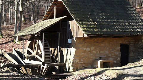 Old Mill House Footage