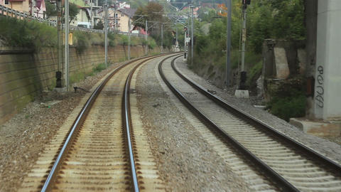 Running Railroad Footage