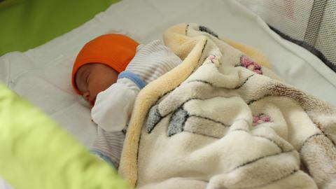 Sleeping Newborn Footage