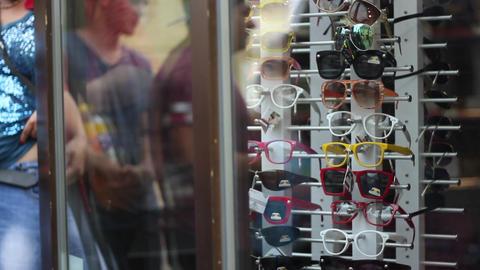 Sunglasses Shop Footage