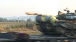 Tanks Transportation on Railroad Live Action