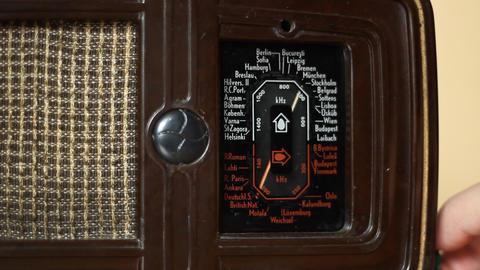 Vintage Radio Footage